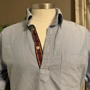 Popover oxford shirt with amazing detailing